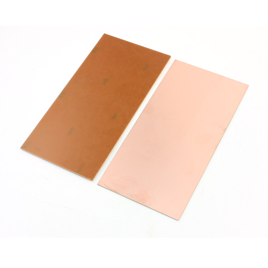2 Pcs DIY Single Side Copper Plated Prototype Paper PCB Board 20cm x 10cm