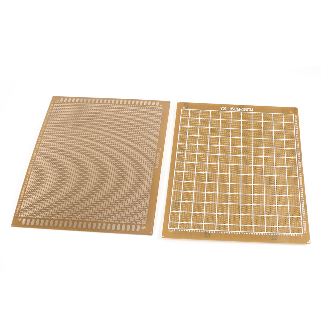 2 Pcs 15cm x 18cm Panel Universal Single Side Copper PCB Board Copper Tone