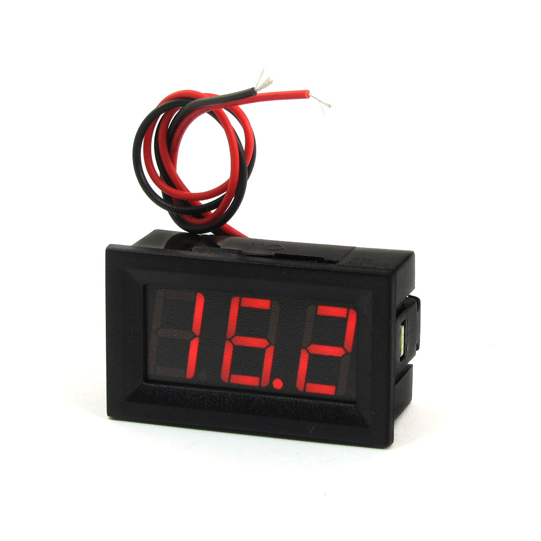 "V27D-T1 0.56"" 3-Digital DC 3.2-30V Voltage Meter LED Voltmeter"