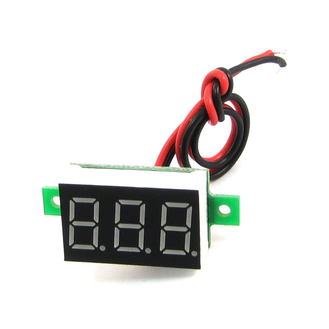"V20D-T1 0.36"" 7 Segment LED 3-Digital DC 3.2-30V Voltage Voltmeter"