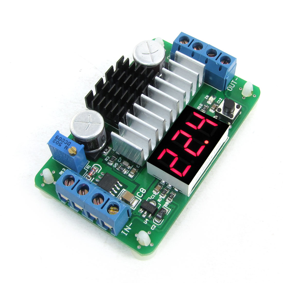 Red LED LTC1871 DC 3.5-30V to DC 3.5-30V Voltage Set up Boost Module