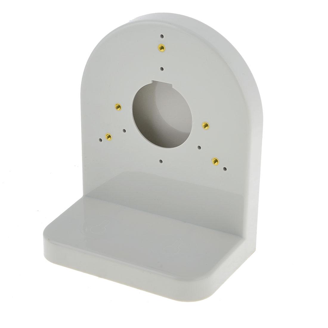 12 Small Hole Gray Plastic L Shape Dome Camera Bracket