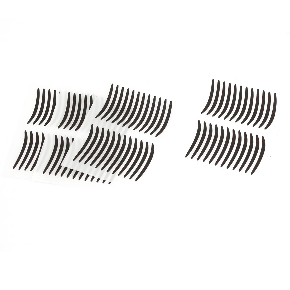 48 Pairs Lady Party Cosmetic Makeup Double Eyelid Sticker Black