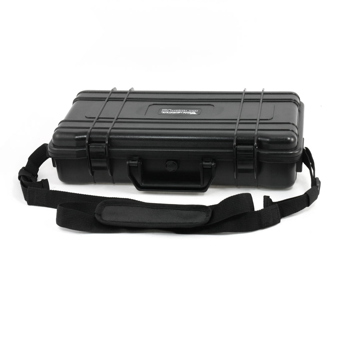Photography Black ABS Press Buckle Waterproof Protection Safety Box