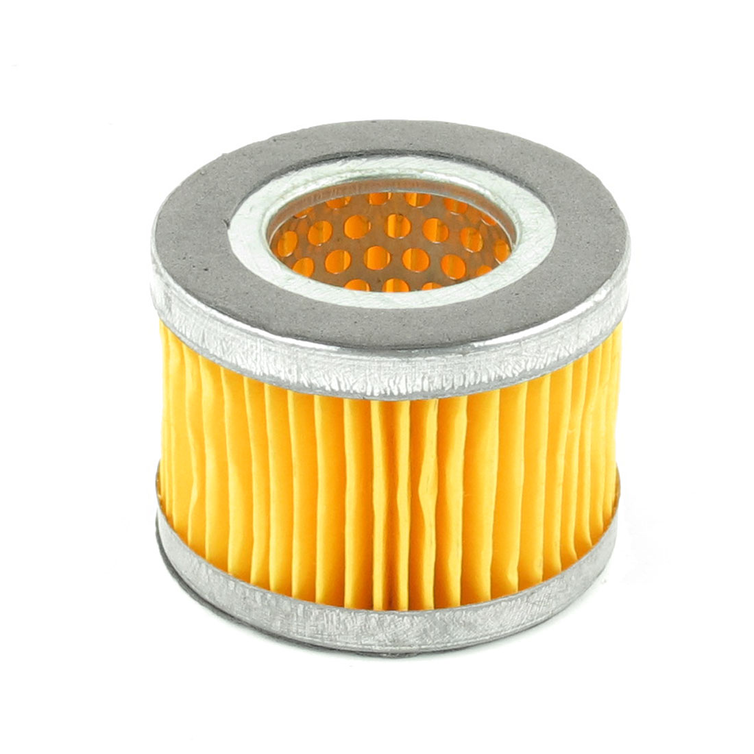 Yellow Svlier Tone Perforating Inside Air Column Shape Muffler Filter
