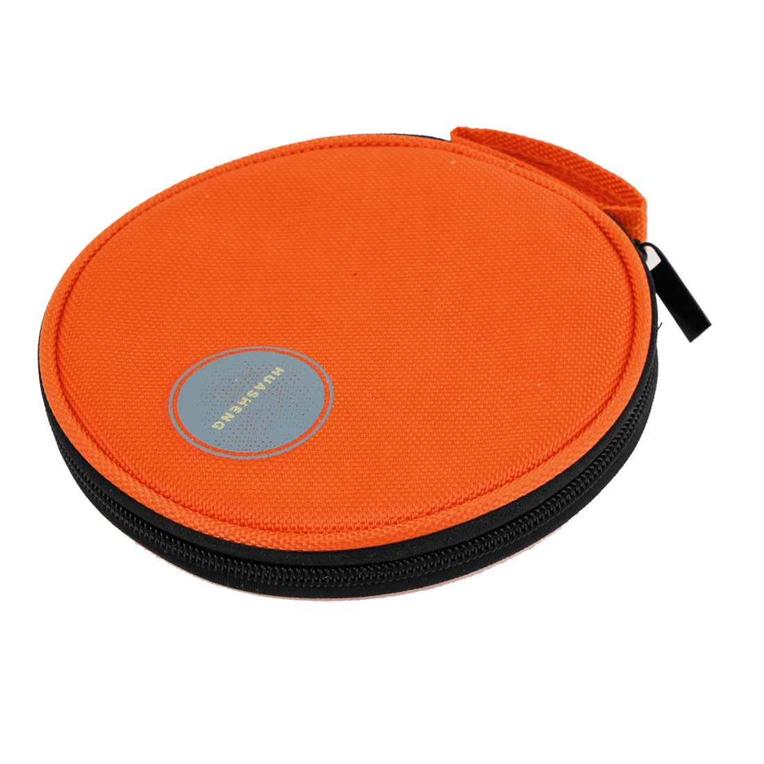 Universal Zipper Orange Oxford Fabric 20 Capacity VCD DVD CD Holder Bag Wallet