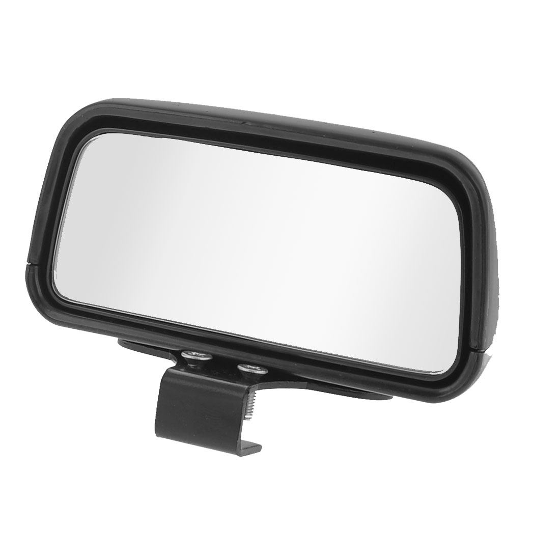 Black Casing Side Rear View Blind Spot Auxiliary Mirror Black for Vehicle Car