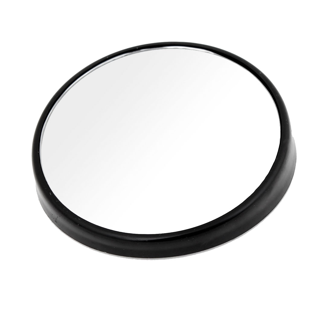 Car Vehicle 75mm Dia Round Wide Angle Convex Blind Spot Mirror Black