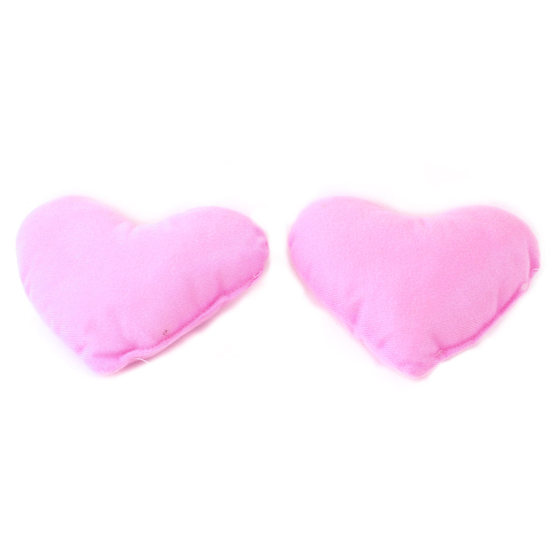 2 Pieces Pink Puppy Cat Pet Heart Style Lovely Neck Pillow Support Mat Pad