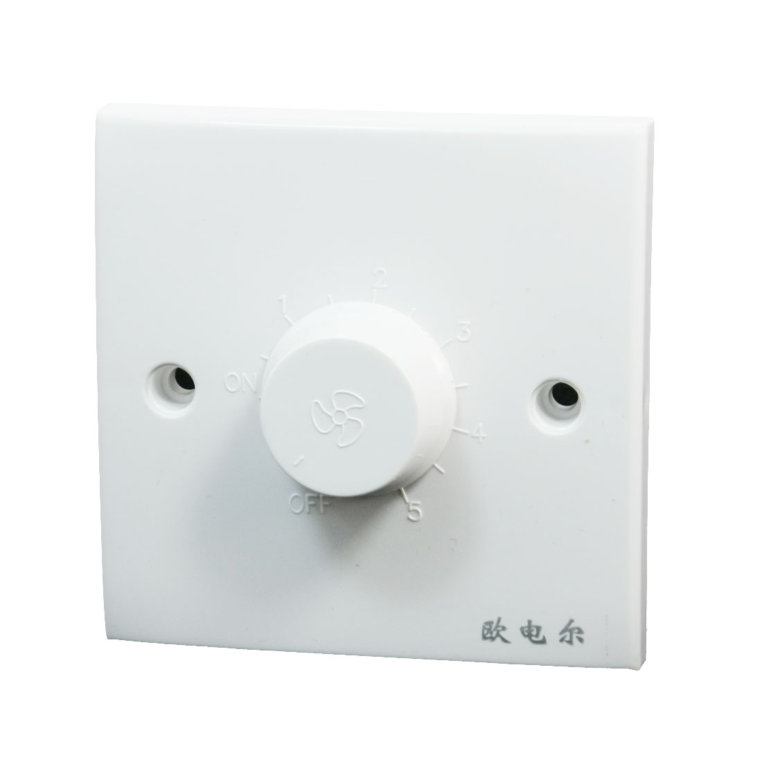 AC 200-250V Ceiling Fan Speed Control Wall Mounted Plate Panel Switch