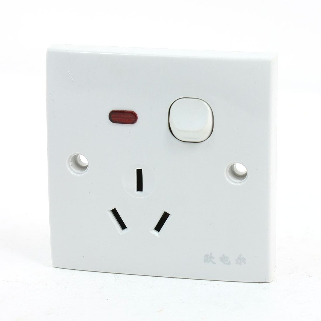 Office House 3Pin AU Plug Socket 1 Switch Wall Mount Plate AC 250V 16A