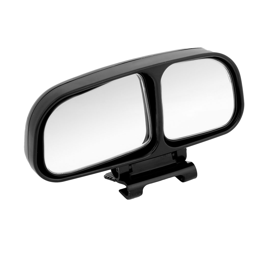 Vehicle Car Black Housing Left Side Adjustable Rearview Blind Spot Mirror