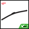 Van Car Truck Black Green Windscreen Bracketless Wiper Blade Assembly 17""
