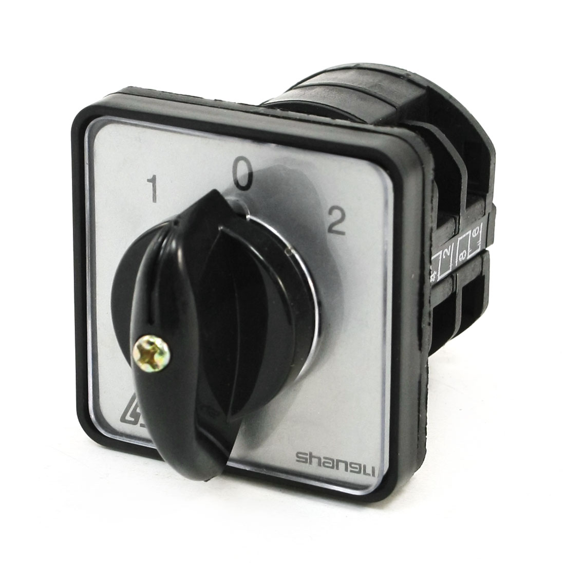 Rotary Cam 1-0-2 3 Position Changeover Combination Switch 4 Terminals