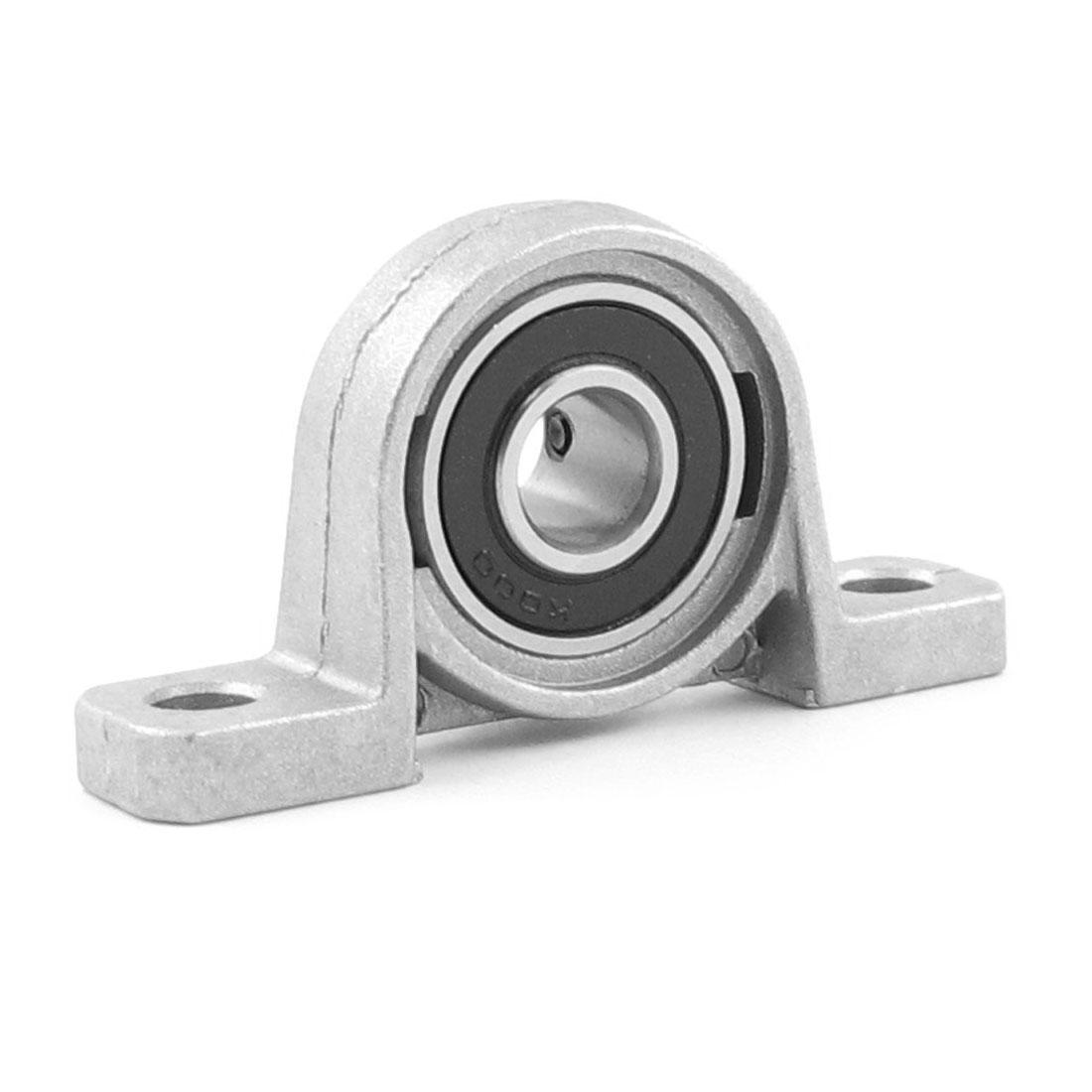 Machine KP000 Set Screw Pressed Steel Solid Base Pillow Block Bearing