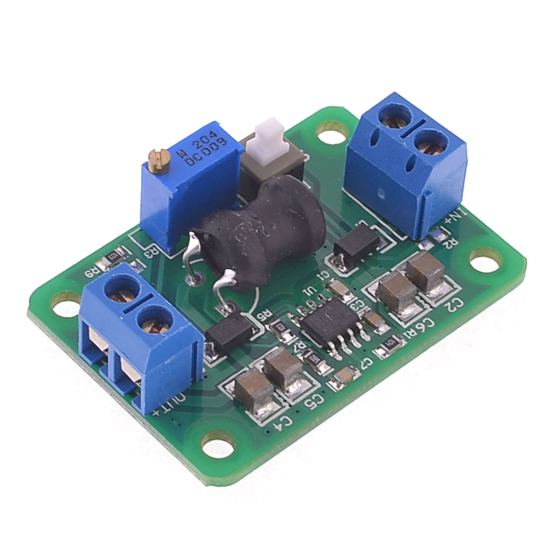 LM2596 DC-DC Adjustable Step Down Module 5V-24V to 0.93V-18V Green
