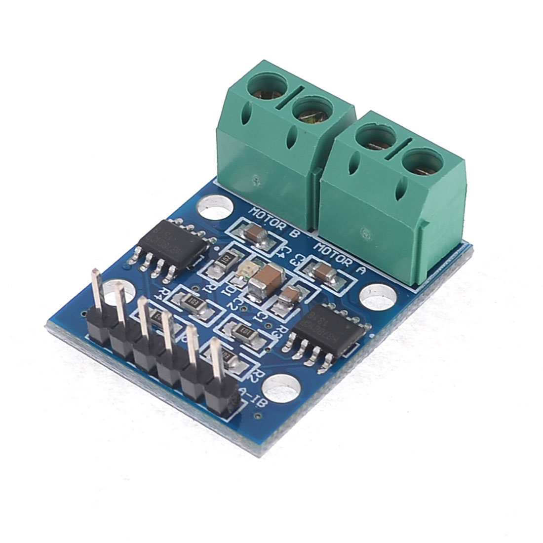 HG7881 Two-Channel Motor Driver Board 2.5-12V Blue Green
