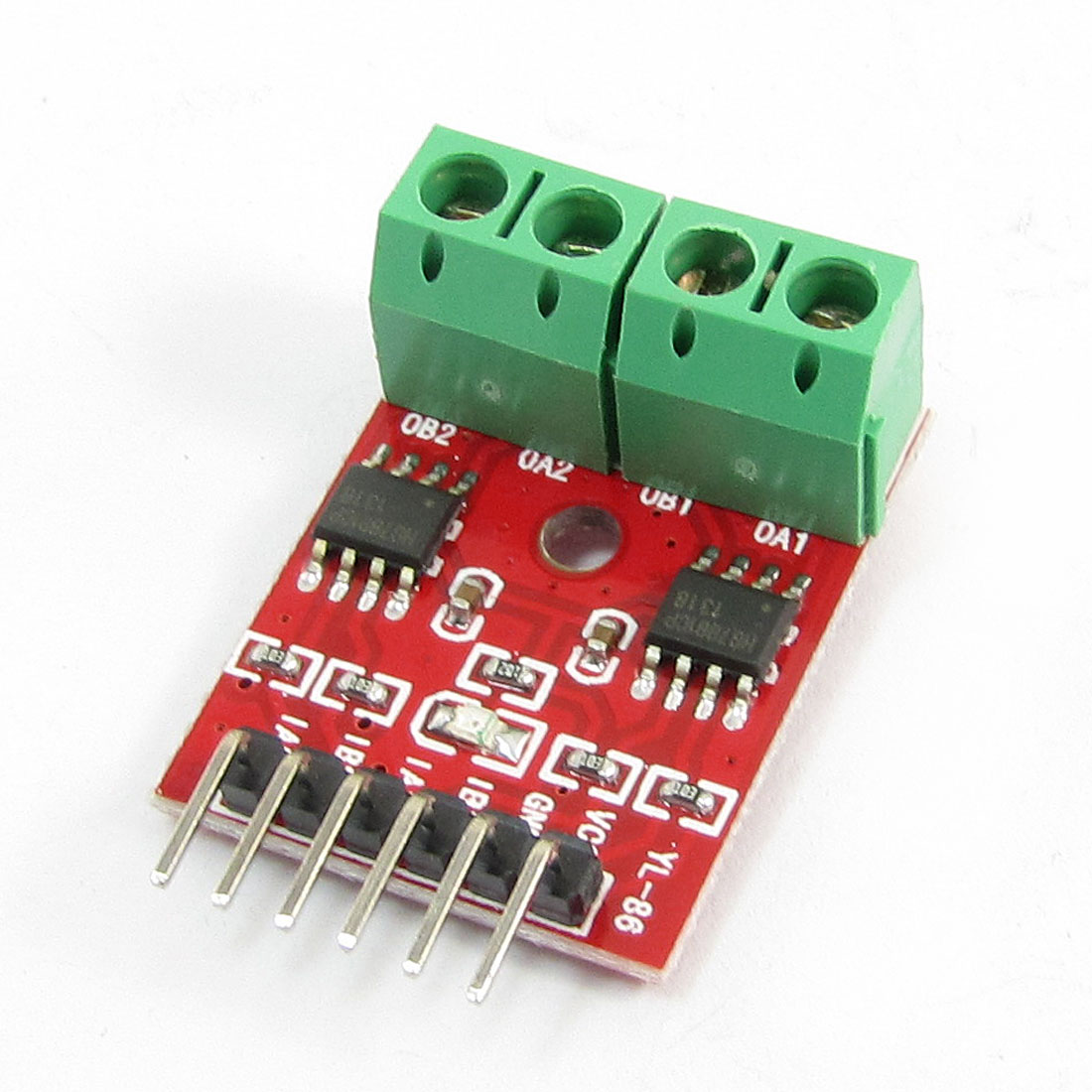L9110 2-Channel Motor Driver Module 2.5-12V 0.8A Red Green