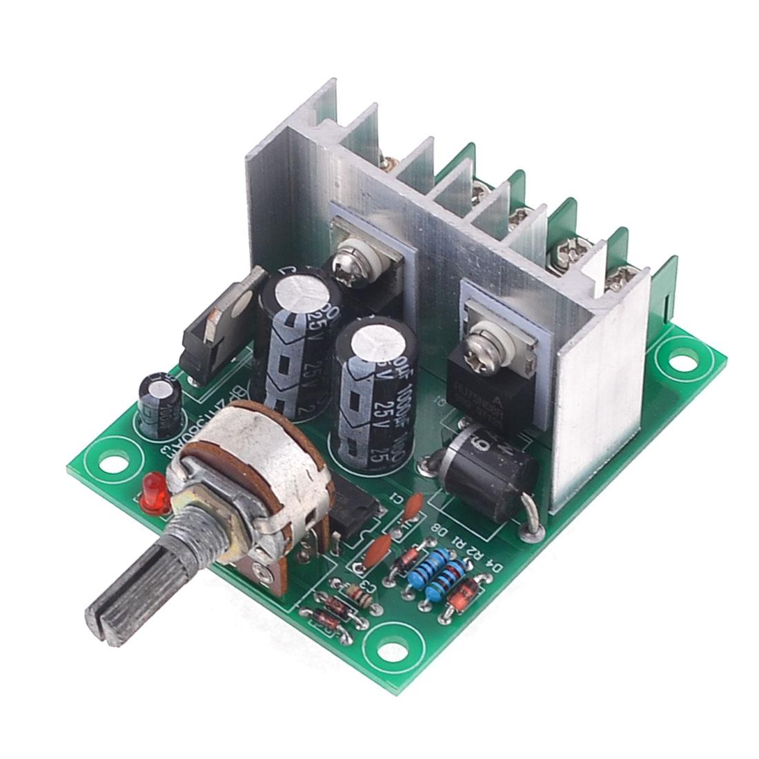 XH-P1209 5%-95% 6.5-20V 10A Temperature Modulator Green Silver Tone