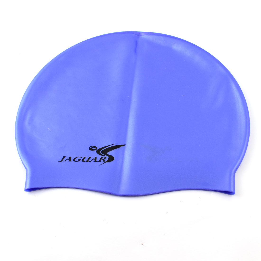 Dome Shaped Stretchy Swim Hat Cap Blue for Swimming Diving Snorkeling