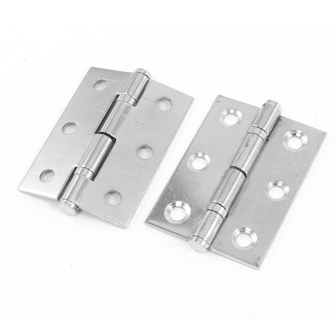 2pcs Stainless Steel Wooden Boxes Crates Door Gate Butt Hinges