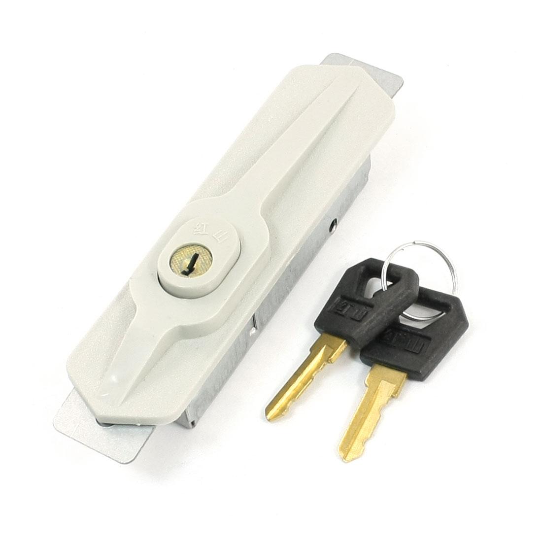 Office Home File Closet Cabinet Door Recessed Lock Beige w 2 Keys