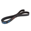 Rubber Round 125 Teeth Auto Car Timing Belt Accessory Part Black