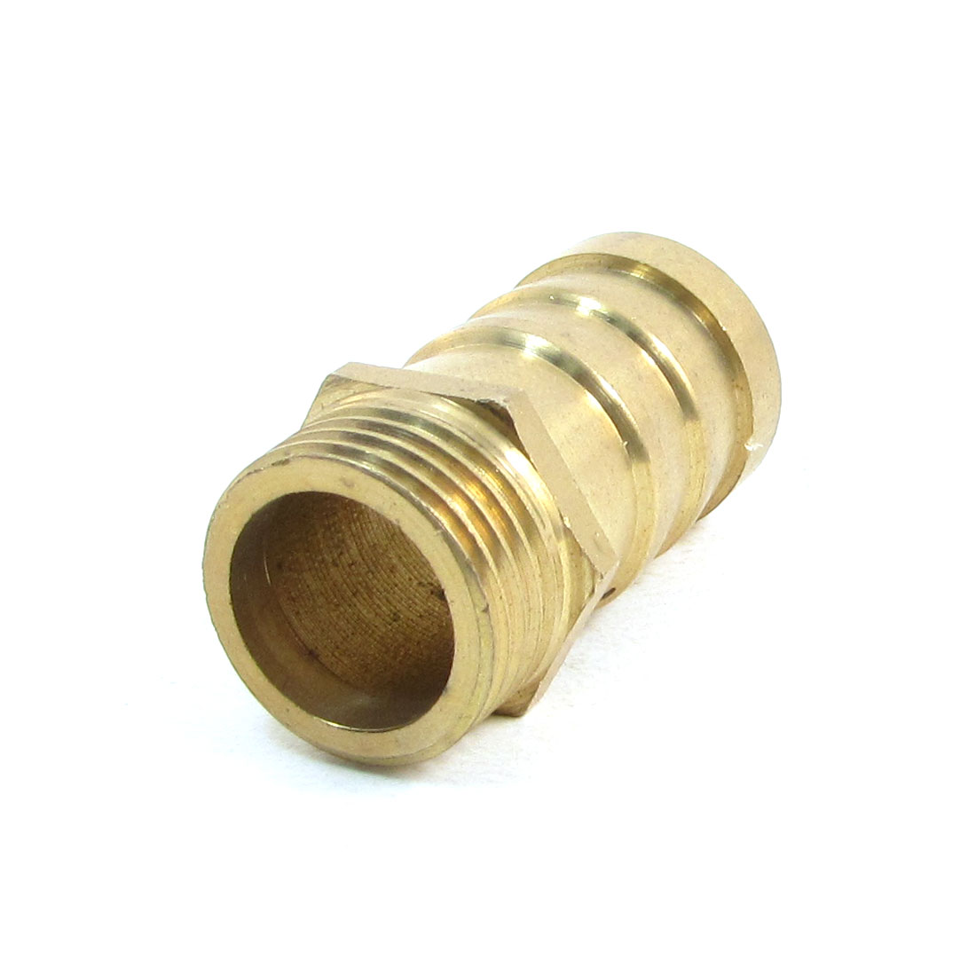 20mm Male Thread Brass Pipe Quick Fitting Mold Hose Barb End