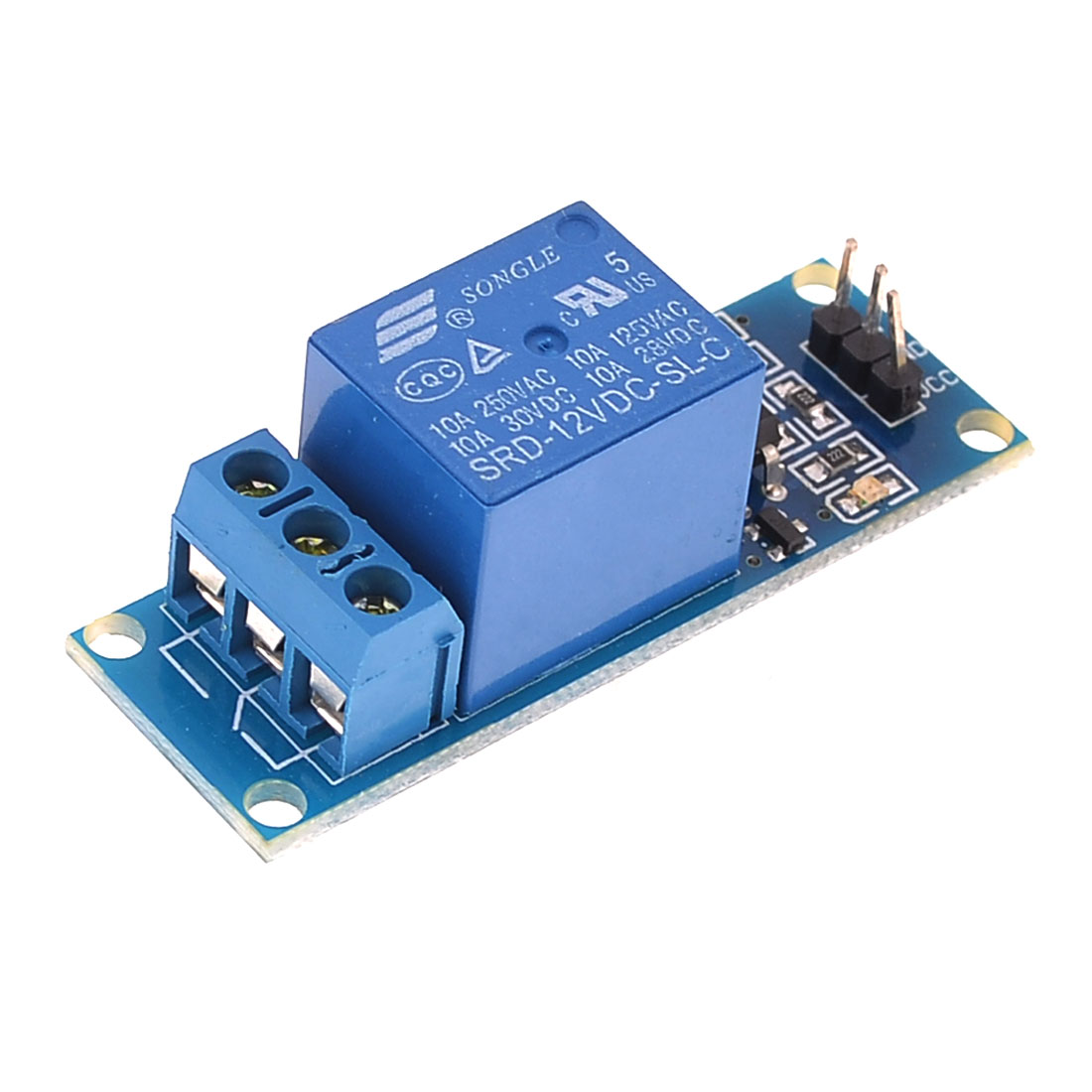 12V 1Channel Expansion Board Optocoupler Driver Low Level Relay Module