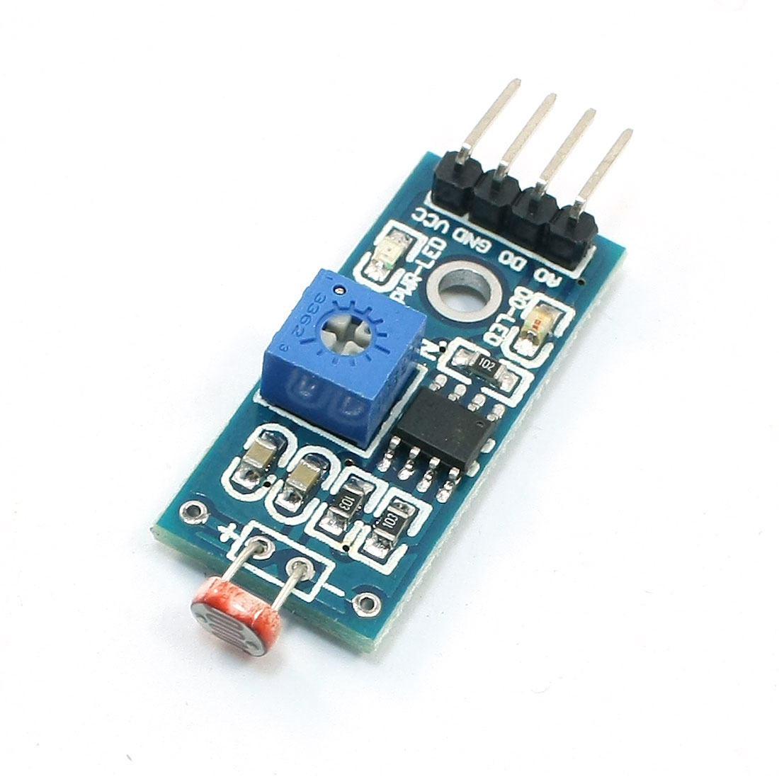 Photosensitive Resistance 4P 1CH Light Detection Sensor Module 3.3-5V