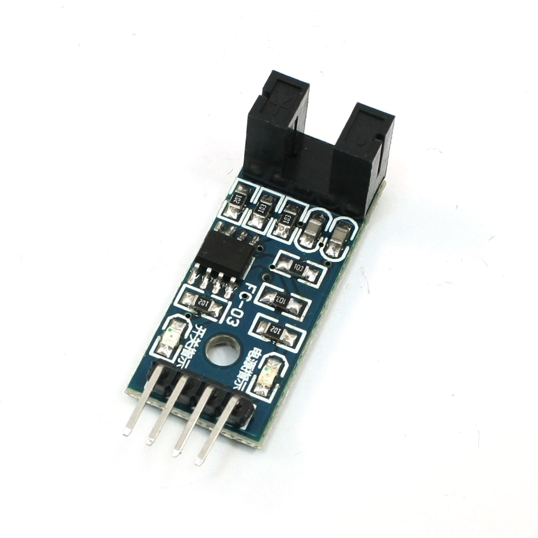 LM393 Chip Motor Measuring Comparator Speed Sensor Module for MCU