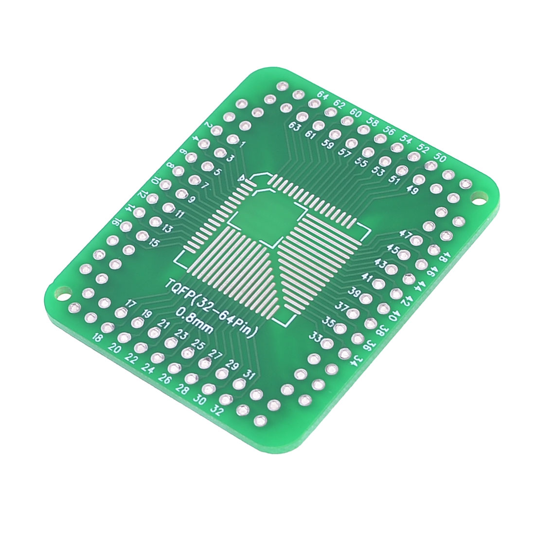 QFP/FQFP/TQFP/LQFP to DIP Adapter PCB Board Converter Double Side