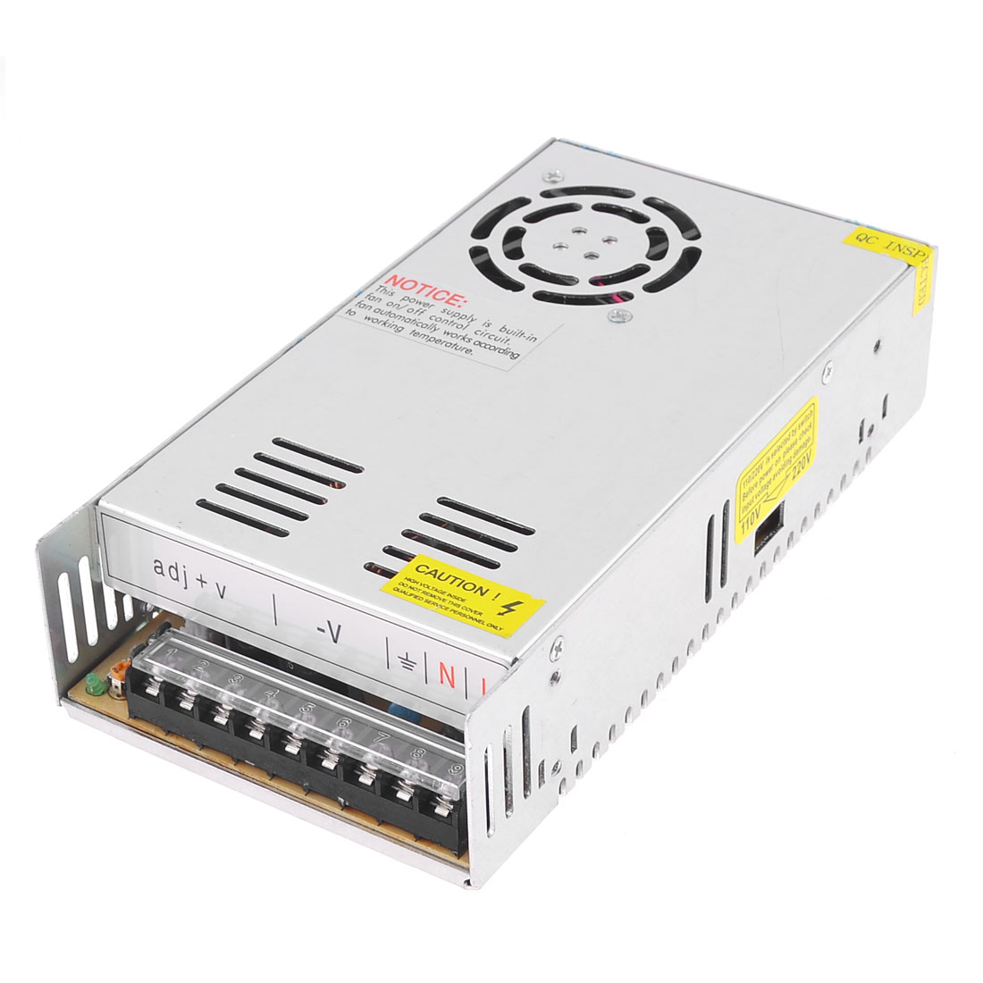 S-360-24 Aluminum Housing Output DC 24V 15A LED Switching Power Supply