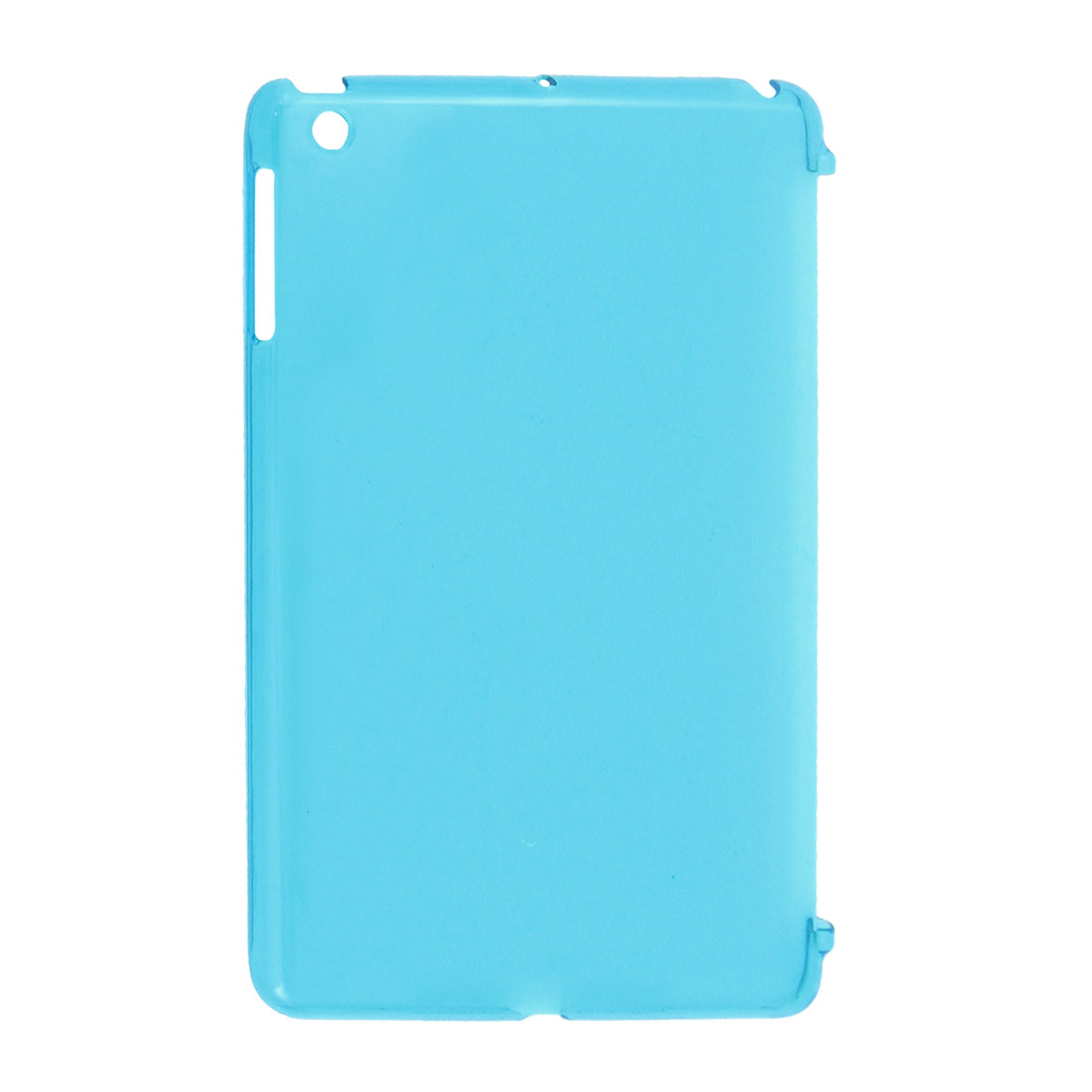 """20cm x 13cm x 1cm Clear Blue Protective Back Cover Case for 7"""" Tablet PC"""