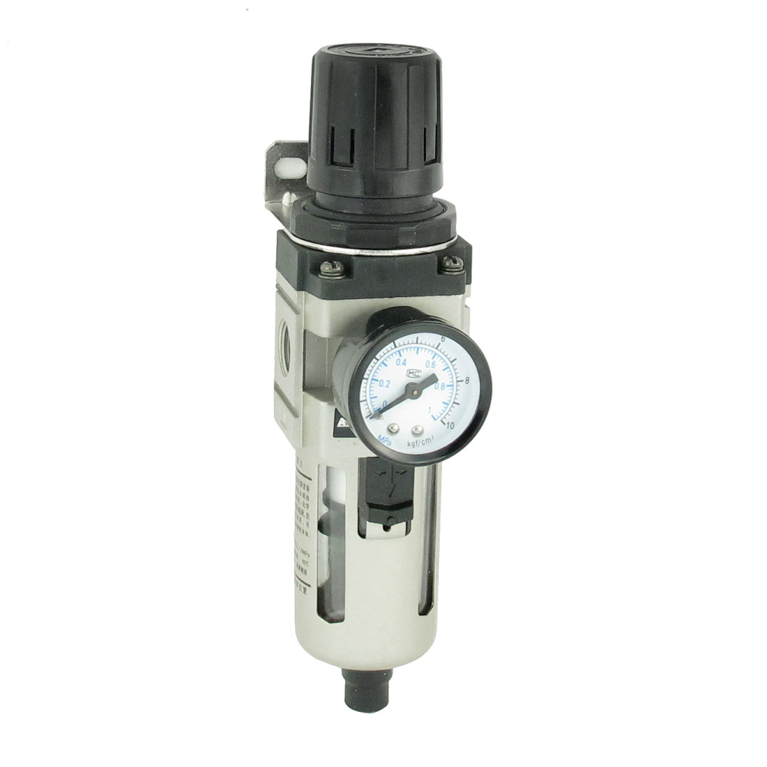 "1.0MPa 1.6"" Dial Gauge Pneumatic Pressure Reducing Regulator + Bracket"