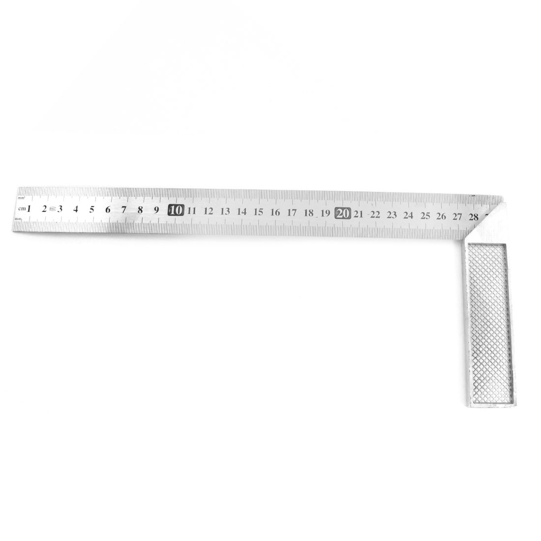 30cm 12 Inch 90 Degree Right Angle L Shaped Square Ruler Tool