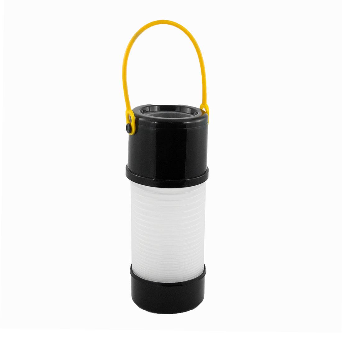 Car Black Yellow Plastic Contractible Umbrella Holder Gadget Bucket