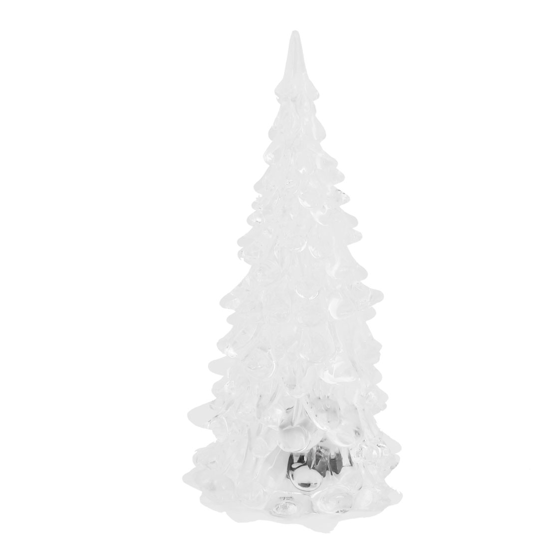Batteries Powered Christmas Tree Shaped Color Changing LED Light Lamp