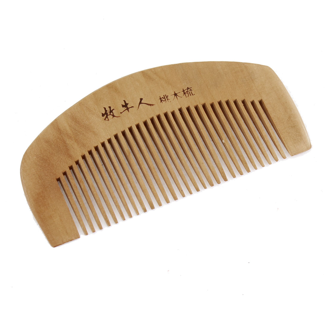 Wood Color Hair Care Tool Anti Static Natural Wooden Comb