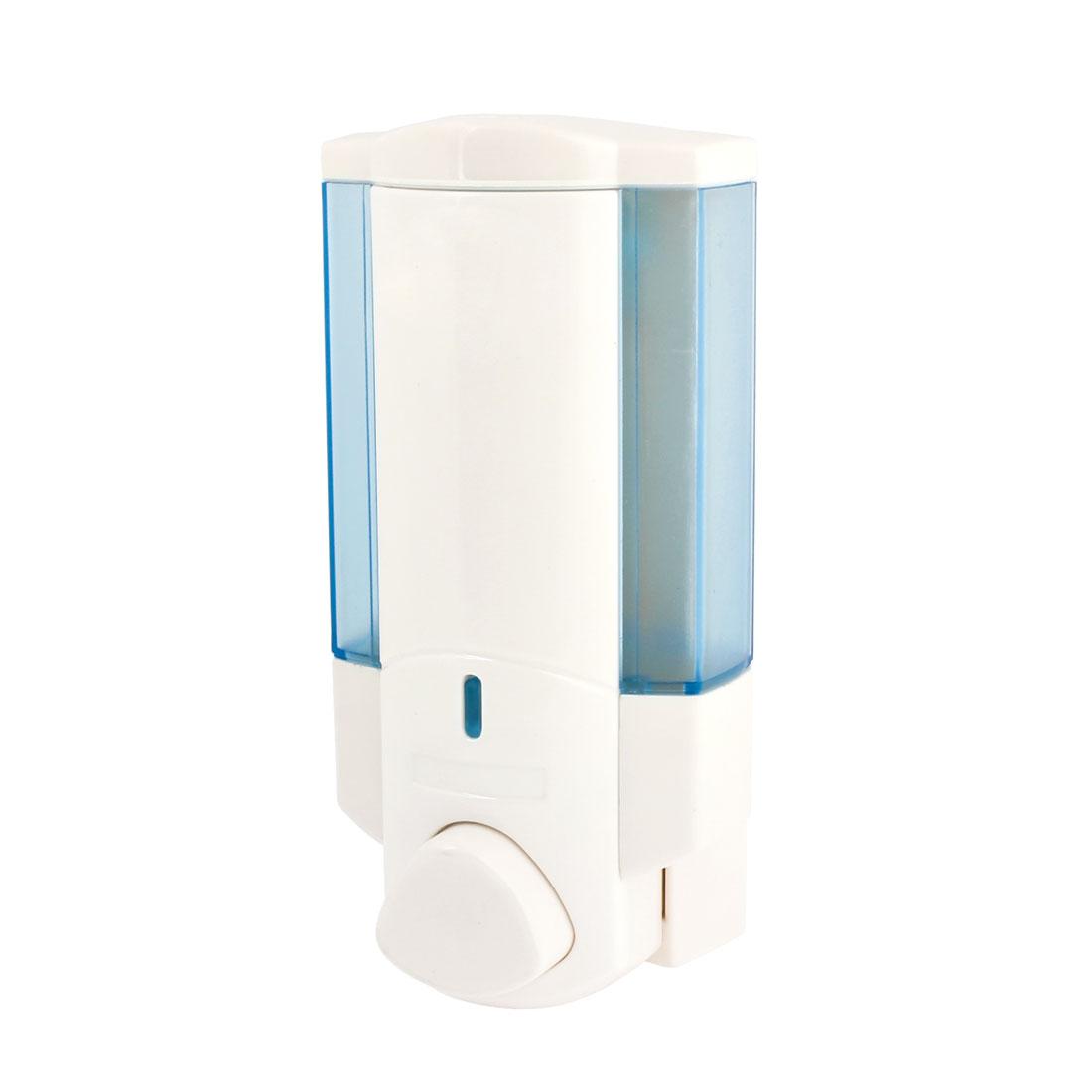 Home Bathroom 400ml Capacity Plastic Liquid Soap Lotion Pump Dispenser