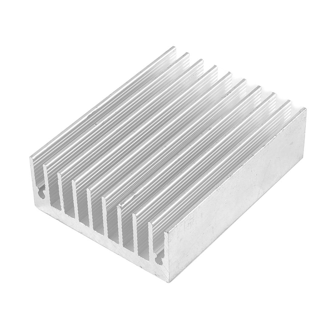 50mm x 45mm x 18mm Aluminium Heat Diffusion Cooling Fin