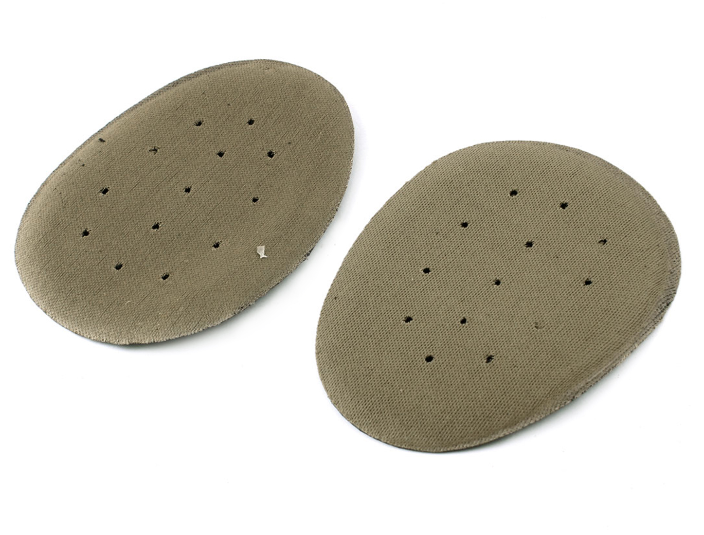 Lady Brown Foam Hole Design Shoes Half Insoles Metatarsal Cushion 2pcs