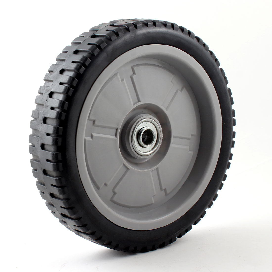 "0.6"" Diameter Axle Lawnmower Wheel Turf Saver Tire 8.1"" x 2.2"""