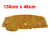 130 x 48cm Brown Heat Absorption Prevent Shine Cushion for 2008 Nissan Tiida