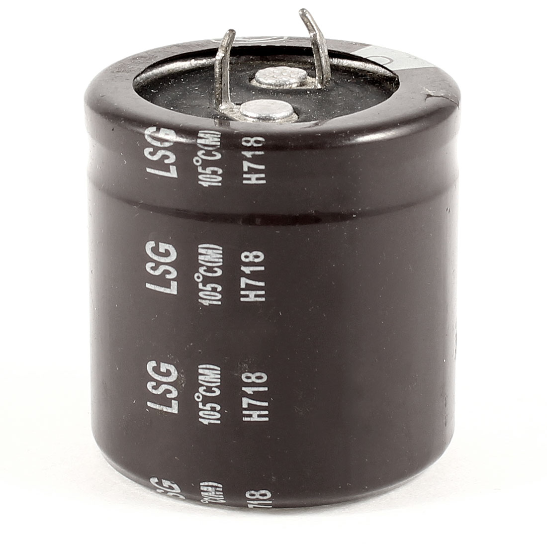 35V 10000uF 105C Aluminum Electrolytic Capacitor Brown 30x32mm