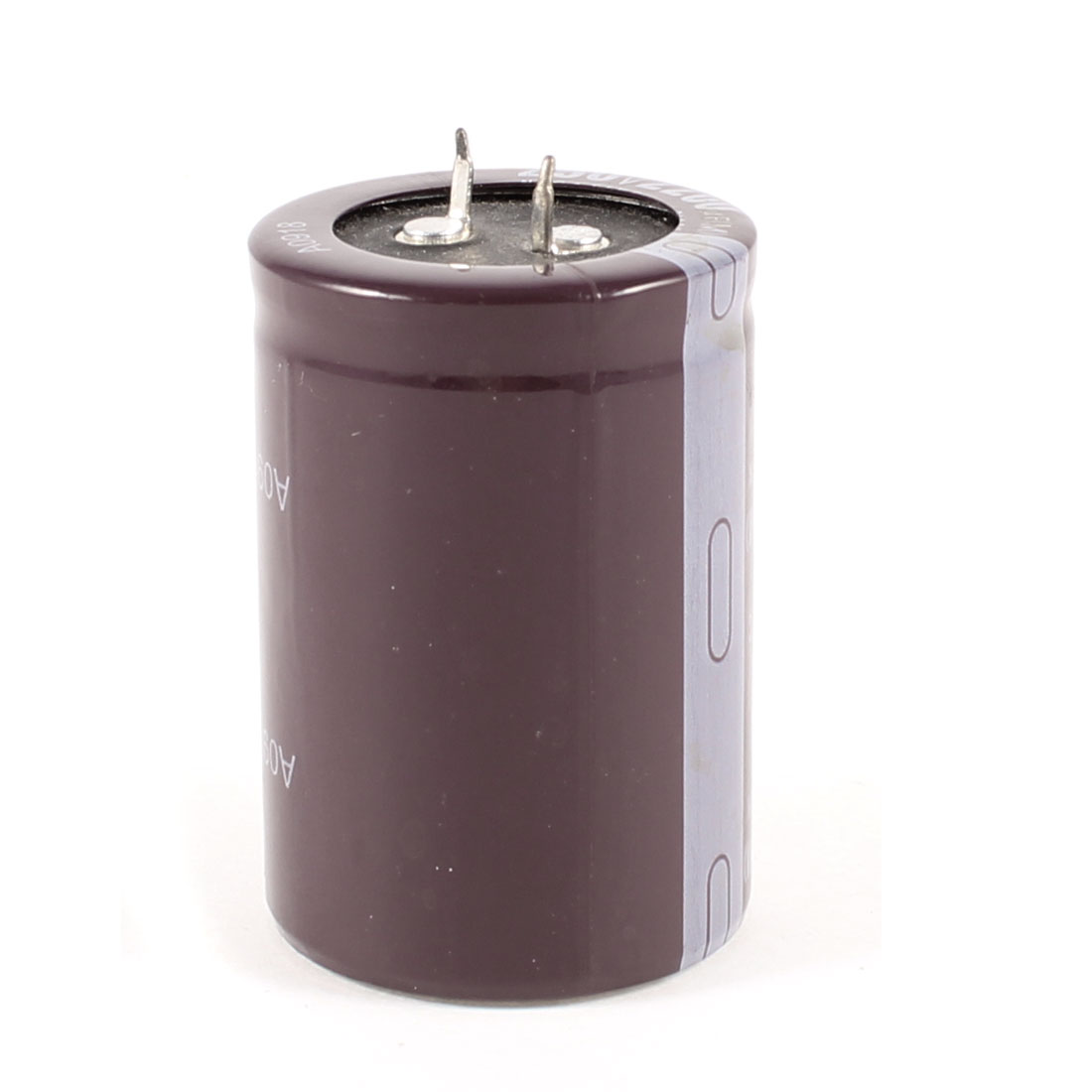 250V 2200uF 105C Aluminum Electrolytic Capacitor Brown 35x52mm