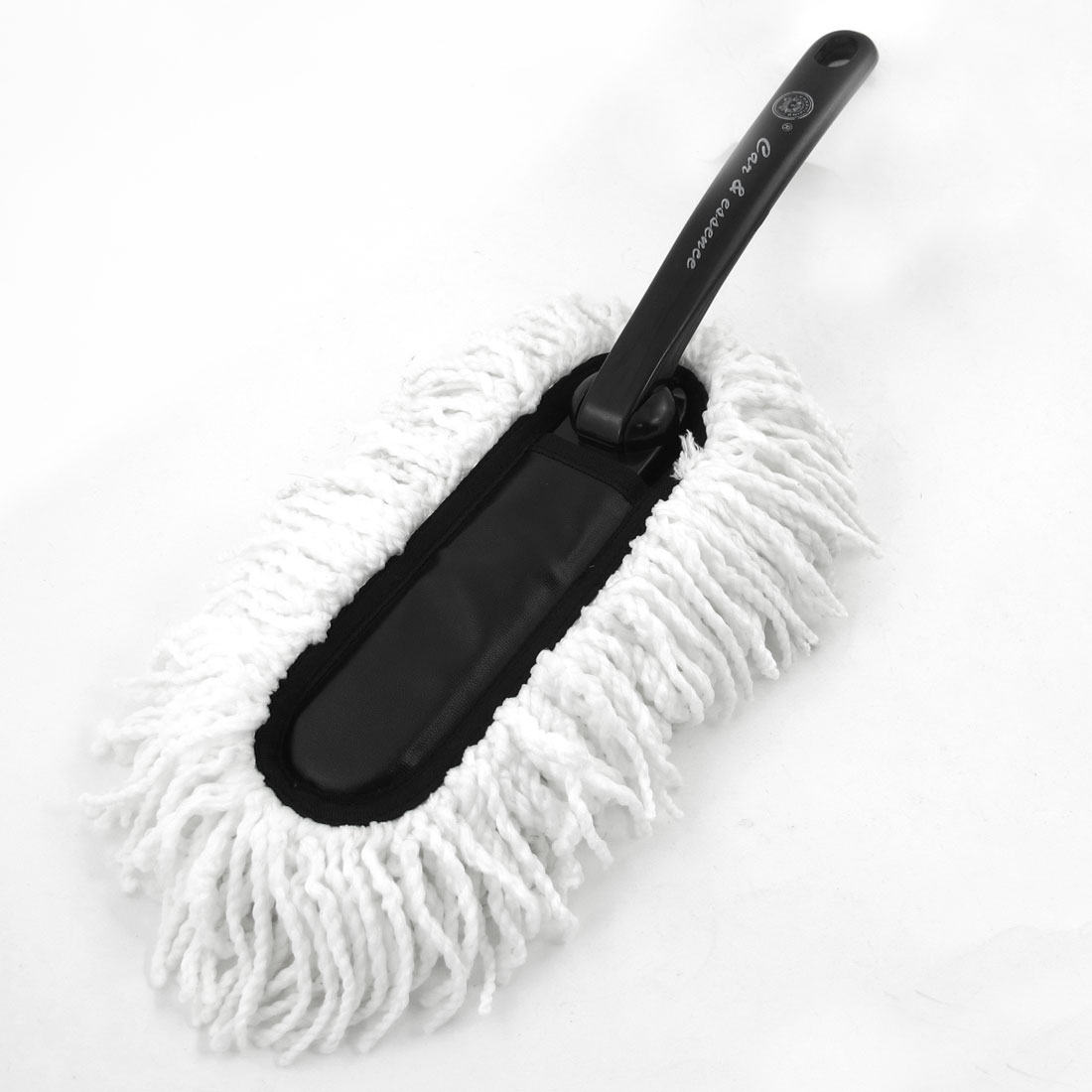 """15"""" Long Handy Microfiber Auto Car Cleaning Brush Duster Tool Black White"""