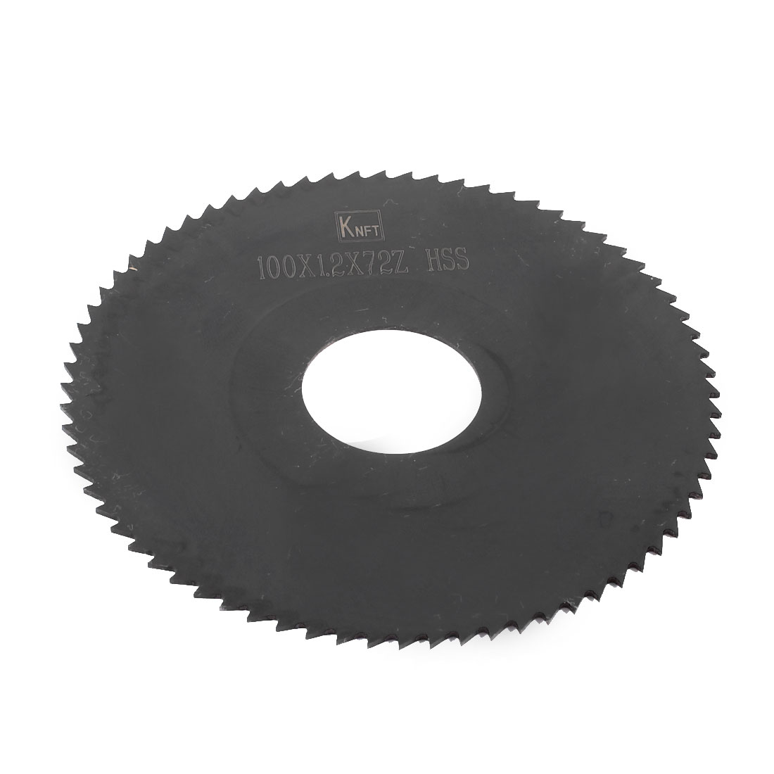 Hand Tool 100mm x 27mm x 1.2mm 72 Peg Teeth HSS Slitting Saw Cutter
