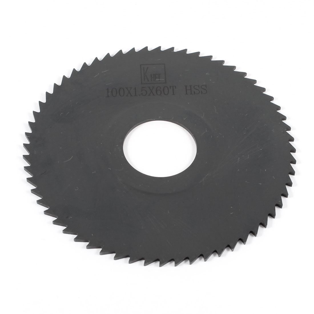 Hand Tool 100mm x 22mm x 1.5mm 60 Peg Teeth HSS Slitting Saw Cutter