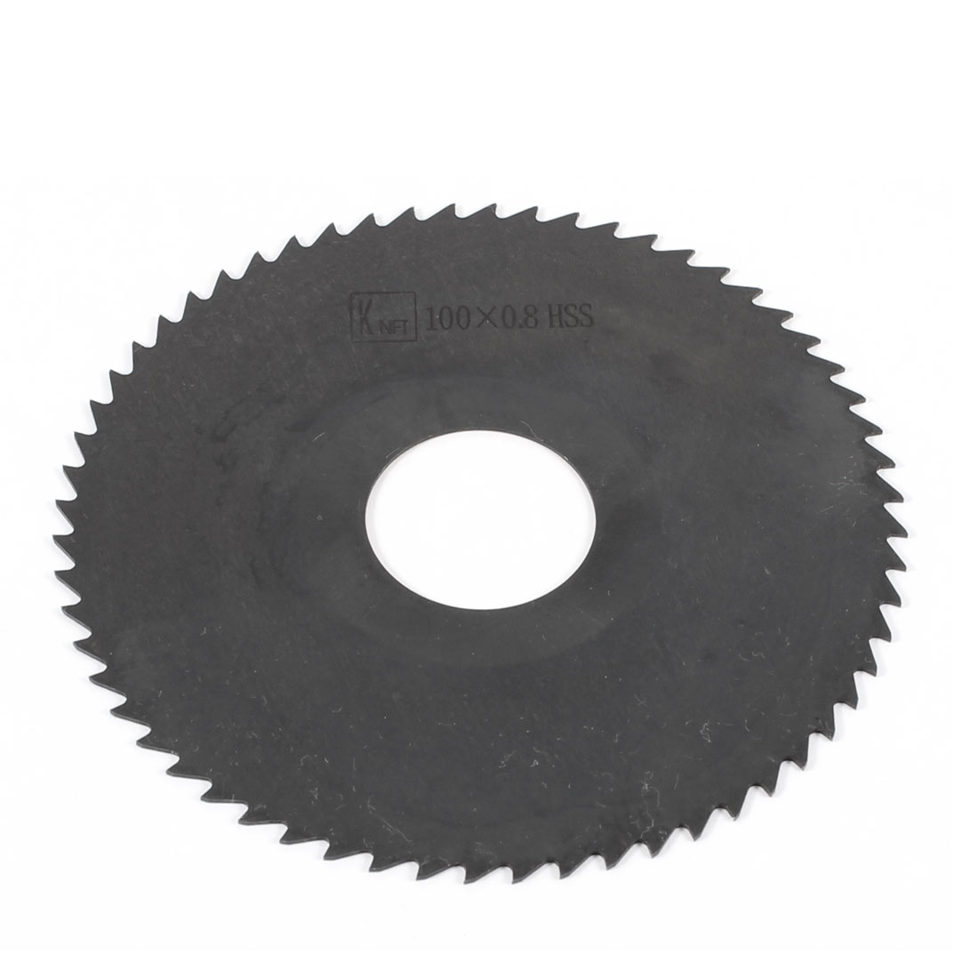 Hand Tool 100mm x 27mm x 0.8mm 60 Peg Teeth HSS Slitting Saw Cutter